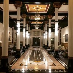 Traditional architecture restored and preserved at the Driskill in Austin Texas