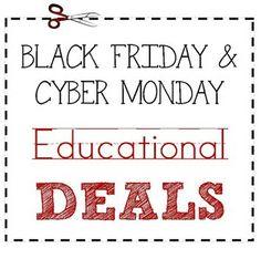 Black Friday Educational Deals 2013 #homeschool #hsmommas