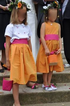 Cortège de demi-saison fuchsia et orange