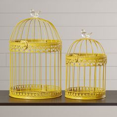 Found it at Wayfair - Ethelyn 2 Piece Bird Cage Set
