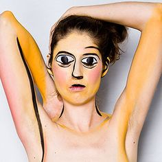 Picasso painting | 17 Brilliant Art History-Inspired Halloween Costumes