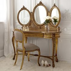 Imagine this morning's sunshine streaming through the window onto this in your boudoir...