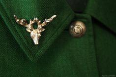 alicia sivertsson aliciasivert pin brosch hjort deer
