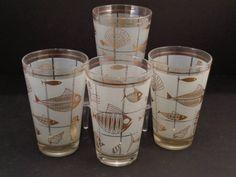 Barware Collection - LIBBEY SEALIFE HIGHBALL GLASSES