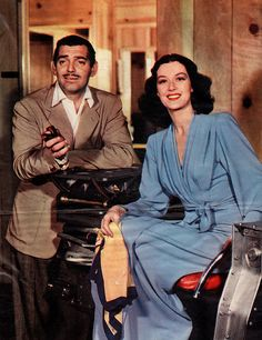 "Clark Gable & Rosalind Russell, ""They Met in Bombay"""