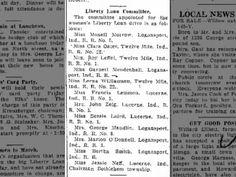 Liberty Loan Ddr 3 April 1918 Jesse grandma