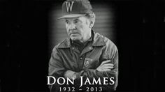 Former University of Washington Football coach Don James has passed away....RIP DAWGFATHER
