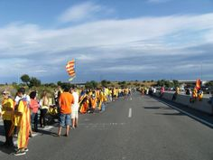 #tram213 #tram214 #Viacatalana #11s2013 Foto de Jordi Pintado