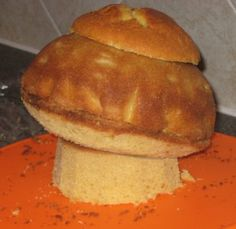 mushroom cake assembling