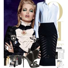 Let me see the amateurs by eleonoragocevska on Polyvore featuring polyvore fashion style Proenza Schouler Luca Carati Blue Nile Chanel Givenchy Yves Saint Laurent Balmain Sergio Rossi