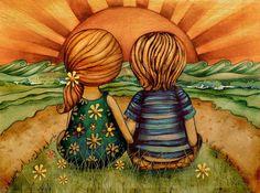 Insegnare ai bambini ad amare è un ottimo strumento per renderli persone migliori