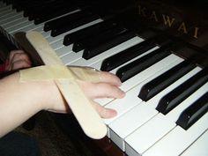 Teaching wrist movement -