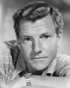 Kenneth More, English actor, (Father Brown Mysteries, Reach for the Sky, Sink the Bismarck) 1914-82.