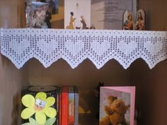 EmmHouse: Christmas decorations Lacy Hearts chart