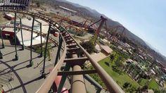 Gold Rush Express Mine Train Roller Coaster Adlabs Imagica Mumbai India