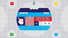 Vimeo Google Santa Tracker - The Countdown