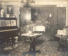 1890's pictures | Interior 1890's