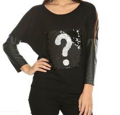 Siyah Payetli Deri Kollu Triko Bluz. Ürünümüze 32,97 TL ödeyerek sahip olabilirsiniz. S, L, XL bedenleri mevcuttur. Siparişleriniz için www.anindagiyim.com/urun/siyah-payetli-deri-kollu-bluz adresimizi ziyaret edin.  Black Sequined Leather Sleeve Knitwear Blouse. You can get our product by paying 32,97 TL. Available in sizes S, L, XL. For your orders please visit www.anindagiyim.com/urun/siyah-payetli-deri-kollu-bluz. #siyah #bluz #siyahbluz #moda #giyim #alışveriş #kadıngiyim #stil Graphic Sweatshirt, Sweatshirts, Sweaters, Fashion, Hoodies, La Mode, Pullover, Trainers, Sweatshirt