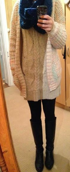 The Girl With Nothing to Wear: Sweater Dress Week: Tuesday