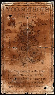 Graven Image of Yog-Sothoth by JasonMcKittrick.deviantart.com on @deviantART