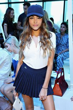 MADISON BEER at Lacoste Fashion Show in New York 09/12/2015