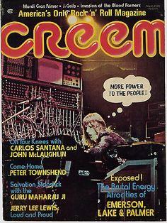 Creem Magazine Article - March 1974. Maharaji, Elan Vital, The Prem Rawat Foundation, Divine Light Mission.