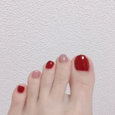 Nail art Christmas - the festive spirit on the nails. Over 70 creative ideas and tutorials - My Nails Korean Nail Art, Korean Nails, Hair And Nails, My Nails, Feet Nail Design, Manicure, Natural Gel Nails, Feet Nails, Luxury Nails