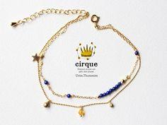 cirque:ラピスラズリAAA/アンクレット - Urim,Thummim