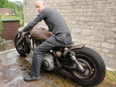 For More details of this Bobber Rat visit Cyclefools blog here