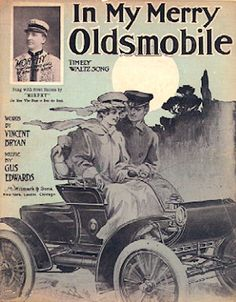 """""""In my Merry Oldsmobile"""" sheet music, 1905 (music by Gus Edwards, lyrics by Vincent P. Bryan)"""