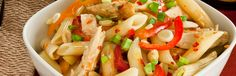 Kung Pao Penne Pasta