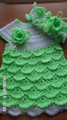 Crochet Toddler, Crochet Baby Clothes, Baby Girl Crochet, Crochet Dresses, Crochet Skirt Pattern, Crotchet Patterns, Crochet Stitches, Baby Tulle Dress, Crochet Videos