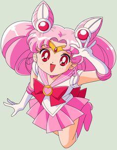 SAILOR MOON S - Sailor Chibi Moon (Remake) by ~JackoWcastillo on deviantART