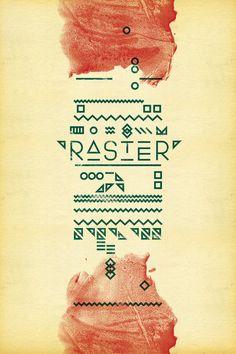 Raster by David Gobber, via Behance  http://www.behance.net/gallery/Raster/3241033