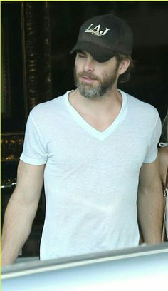 Chris Pine in white t-shirts is my favorite thing.
