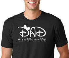 Mickey Mouse DAD of the Birthday Boy Shirt, funny shirt.Dad Shirt, Birthday Shirt, Birthday Gift, Vintage Age, fashion funny,Paw Patrol