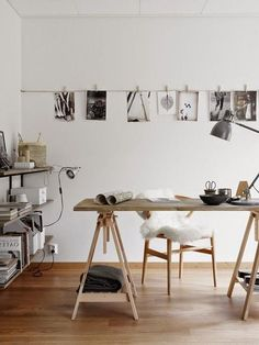 How to set up a creative home office. Imme more women - at least ., - How to set up a creative home office. Imme more women – at least …, How to set up a creative home office. Imme more women – at least …, Workspace Design, Office Workspace, Home Office Design, Home Office Decor, House Design, Home Decor, Office Spaces, Loft Office, Office Ideas