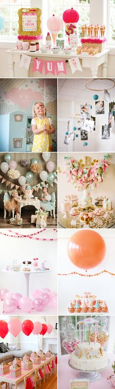 29 Kids Birthday Party Design Ideas - Sweet
