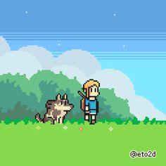 "eto2d: "" The Legend of Zelda: Breath of the Wild """