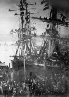 The New South Wales Contingent for Sudan prepares to set sail from Sydney on the of March. Sight & Sound, Set Sail, Forts, South Wales, Sailboat, Sailing Ships, Sydney, Cruise, Empire