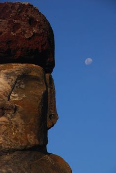 Moon and Moai, Easter Island