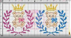 Baby Cross Stitch Patterns, Cross Stitch For Kids, Knitting Yarn, Baby Knitting, Embroidery Needles, Big Eyes, Pixel Art, Creations, Kids Rugs