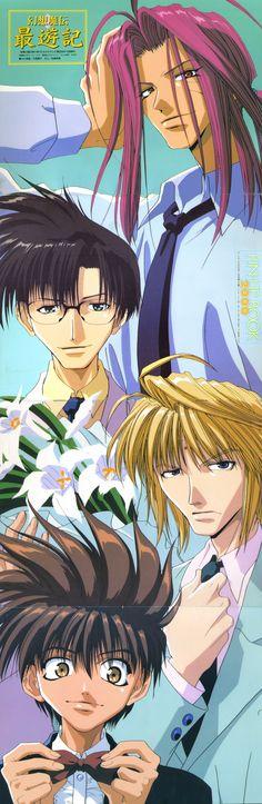 Saiyuki ~~ Our Heroes!!