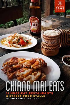 hotel food Chiang Mai Food Guide: 11 Must-Eat Restaurants and Street Food Stalls in Chiang Mai, Thailand Thai Street Food, Best Street Food, Food Menu, A Food, Food And Drink, Khao Soi, Hotel Food, St Patricks Day Food, Food Stall
