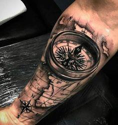 Dope tattoos, forearm tattoos, skull tattoos, tattoos for guys, forearm . Forarm Tattoos, Map Tattoos, Neue Tattoos, Skull Tattoos, Body Art Tattoos, Tattos, Tattoo Sleeve Designs, Tattoo Designs Men, Sleeve Tattoos