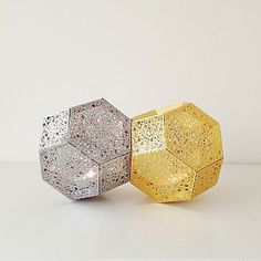 Etch Candle Holders by Tom Dixon