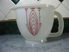Still my fav!  Vintage Tupperware Eight Cup Measuring