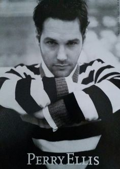Actor Paul Rudd for Perry Ellis (2006)