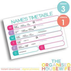 Personalised-School-Weekly-Timetable---Design-3---Version-1