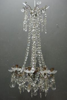 19th Century antique French chandelier from www.jasperjacks.com